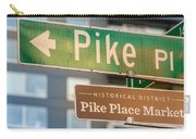 Pike Place Market Sign Carry-all Pouch