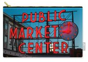 Pike Place Public Market Seattle Carry-all Pouch