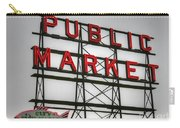 Pike Place Public Market Sign Carry-all Pouch