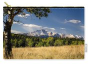 Pikes Peak And Snow Carry-all Pouch