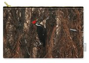 Pileated In Winter Carry-all Pouch
