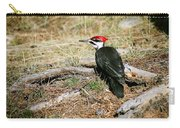 Pileated Woodpecker Forest Floor Carry-all Pouch