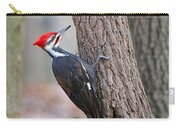 Pileated Woodpecker On Tree Carry-all Pouch