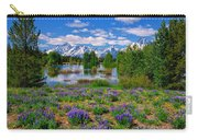 Pilgrim Creek Wildflowers Carry-all Pouch