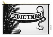 Pill Bottle, 19th Century Carry-all Pouch