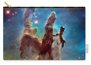 Pillars Of Creation In High Definition - Eagle Nebula Carry-all Pouch