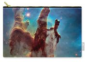 Pillars Of Creation In High Definition Cropped Carry-all Pouch