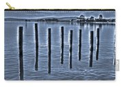 pillars on the Bay Carry-all Pouch
