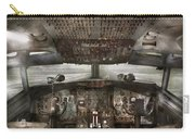 Pilot - Boeing 707  - Cockpit - We Need A Pilot Or Two Carry-all Pouch by Mike Savad