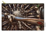 Pilot - Plane - Engines At The Ready  Carry-all Pouch by Mike Savad
