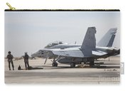Pilots Wait To Board Their Fa-18b Carry-all Pouch