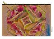 Pin Stripe City Carry-all Pouch by Deborah Benoit