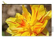 Pin Striped Tulip Carry-all Pouch