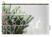 Pine Branches Birdcage Carry-all Pouch