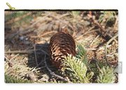 Pine Cone And Small Branch Carry-all Pouch