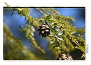 Pine Cone Blues Carry-all Pouch