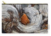 Pine Cone In A Knot  Carry-all Pouch