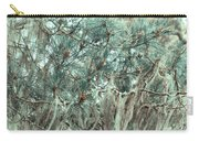 Pine Cones And Lace Lichen Carry-all Pouch