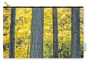 Pine Forest In The Autumn Carry-all Pouch