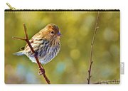 Pine Siskin - Digital Paint Carry-all Pouch