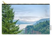 Pine Tree And Columbia River Gorge Carry-all Pouch
