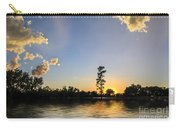 Pine Tree At Sunset Carry-all Pouch
