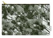 Pine Tree Branches Covered With Snow Carry-all Pouch