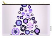 Pine Tree Ornaments - Purple Carry-all Pouch
