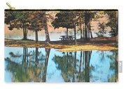 Pine Tree Water Reflections Carry-all Pouch