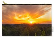 Pine Trees At Sunset Carry-all Pouch