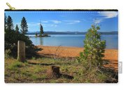Pine Trees In Lake Almanor Carry-all Pouch