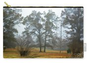 Pine Trees In Mist - Digital Paint 1 Carry-all Pouch