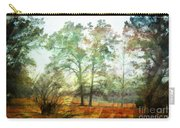 Pine Trees In Mist 2 - Digital Paint Carry-all Pouch