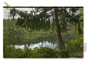 Pine Trees Over Starvation Lake Carry-all Pouch