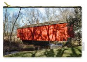 Pine Valley Covered Bridge In Bucks County Pa Carry-all Pouch