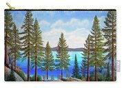 Pine Woods Lake Tahoe Carry-all Pouch