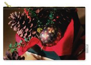 Pinecones Christmasbox Painted Carry-all Pouch