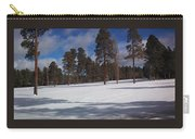 Pinetop Snowfall Carry-all Pouch