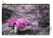 Pink 2cv  Carry-all Pouch