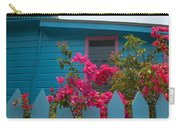 Pink And Blue House Carry-all Pouch