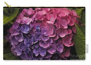 Pink And Blue Hydrangea Carry-all Pouch