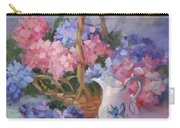 Pink And Blue Hydrangeas Carry-all Pouch