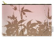 Pink And Brown Haiku Carry-all Pouch