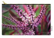 Pink And Cream Cluster Bloom Carry-all Pouch