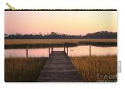 Pink And Orange Morning On The Marsh Carry-all Pouch