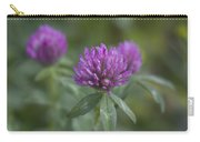 Pink And Pretty Clover Carry-all Pouch
