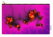 Pink And Purple Digital Fractal Artwork Carry-all Pouch
