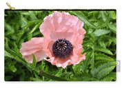 Pink And Purple Poppy Carry-all Pouch