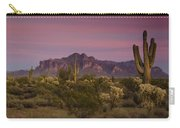 Pink And Purple Skies  Carry-all Pouch