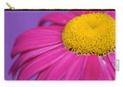 Pink And Purple Smile Carry-all Pouch